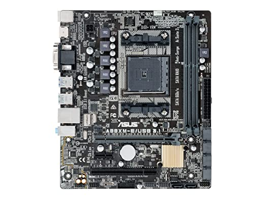2 opinioni per Asus A88XM-E/USB3.1 Scheda Madre, mATX A88X, USB 3.1