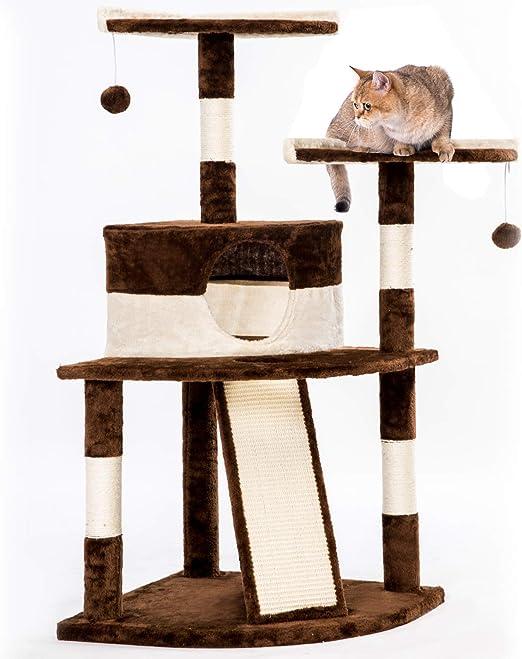 PURLOVE Rascador para Gatos y Gatos, Centro de Actividades ...