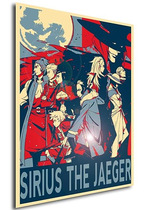 Instabuy Poster Sirius The Jaeger - Propaganda - Personajes ...