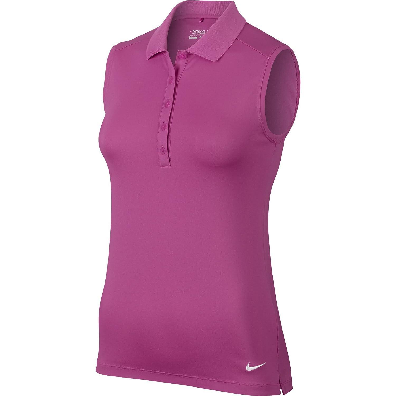 d42b84e22bfbc8 Nike Womens Dri Fit Tech Pique Sleeveless Golf Shirts – EDGE ...