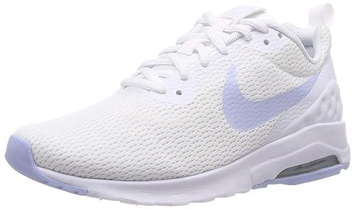 purchase cheap 48938 15cba Nike Wmnsair Max Motion LW Scarpe da Ginnastica Basse Donna, Multicolore  (White/Royal