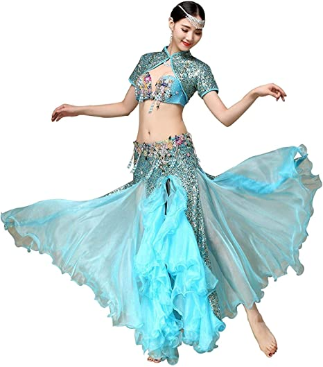 Conjunto Profesional De Trajes De Danza del Vientre para Damas ...