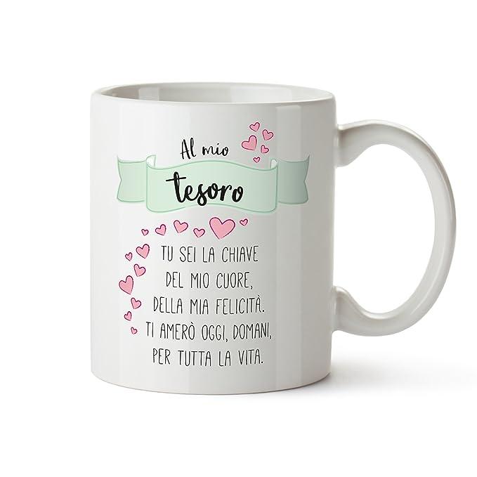 1 opinioni per TassenWerk- Tazza Romantica con Stampa- Poesia d'Amore- Al Mio Tesoro- Tazza da
