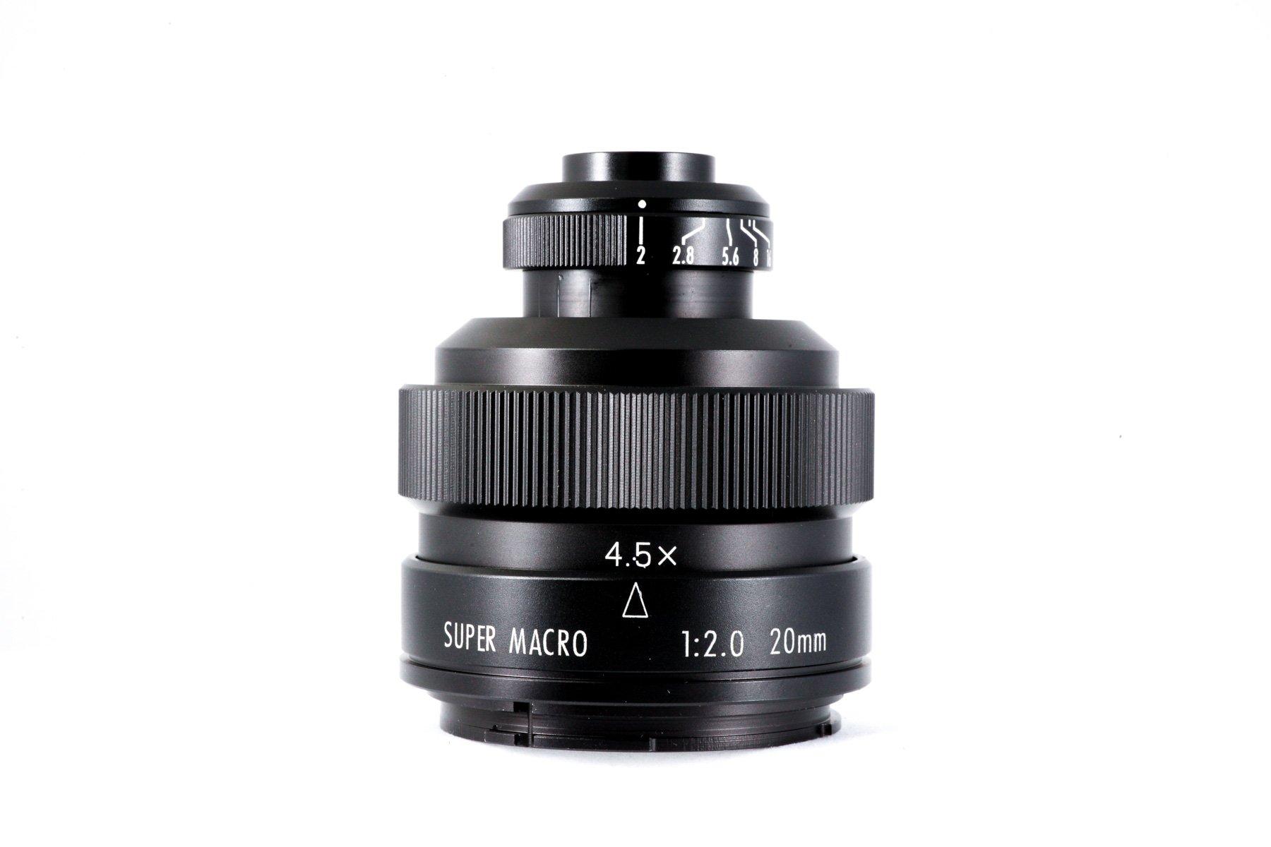 Mitakon 20mm f 2.0 Super Macro Lens Full-Frame 4.5X for Nikon F mount DSLR ZhongYi microscope-lens for Cameras by MITAKON