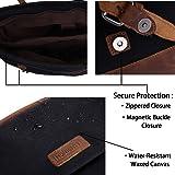 Canvas 15.6 Inch Laptop Messenger Bag for Men