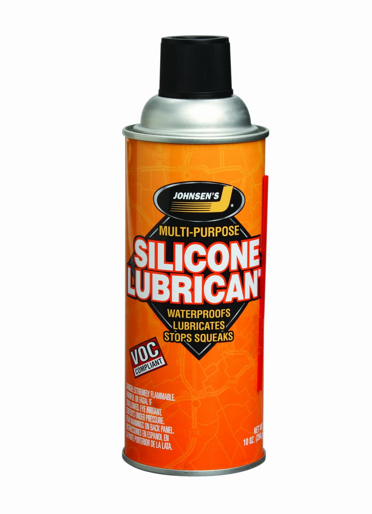 Johnsen's 4603-12PK Silicone Lubricant - 10 oz., (Pack of 12)