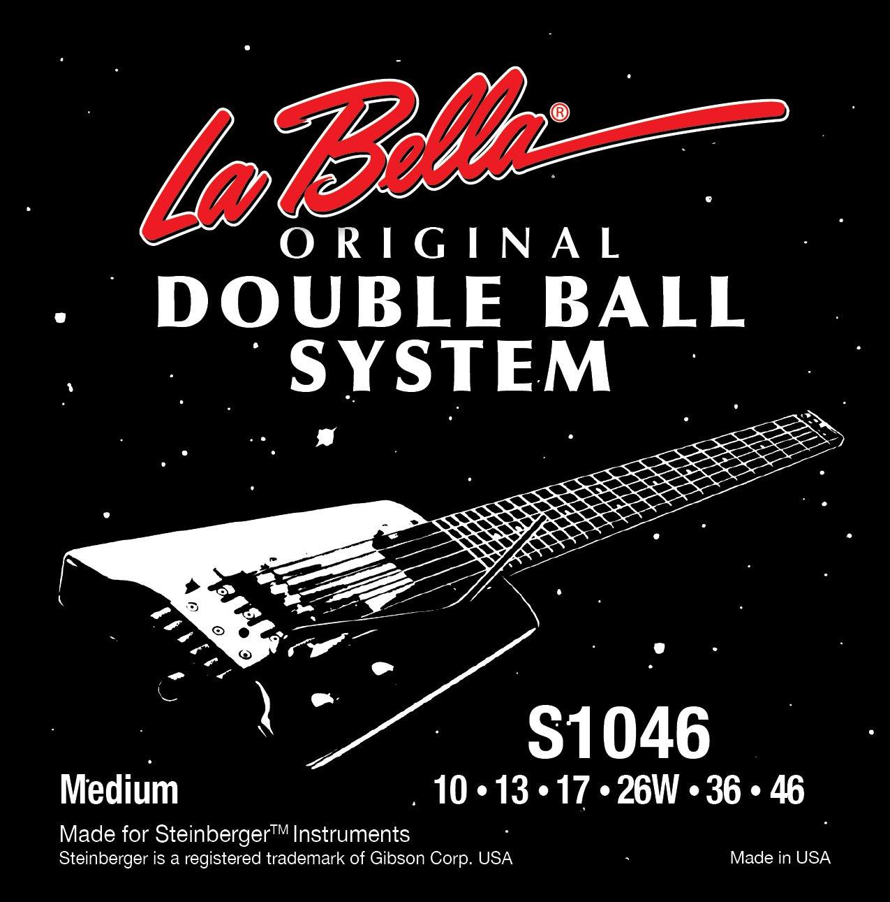 La Bella Strings - Juego de cuerdas para guitarra eléctrica (extremo de bola, 9-42): Amazon.es: Instrumentos musicales