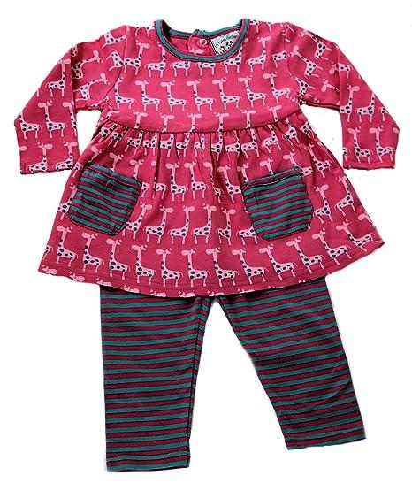 1e1030d0f035 Amazon.com: Baby-girls Knit Giraffe Dress and Leggings Set: Clothing