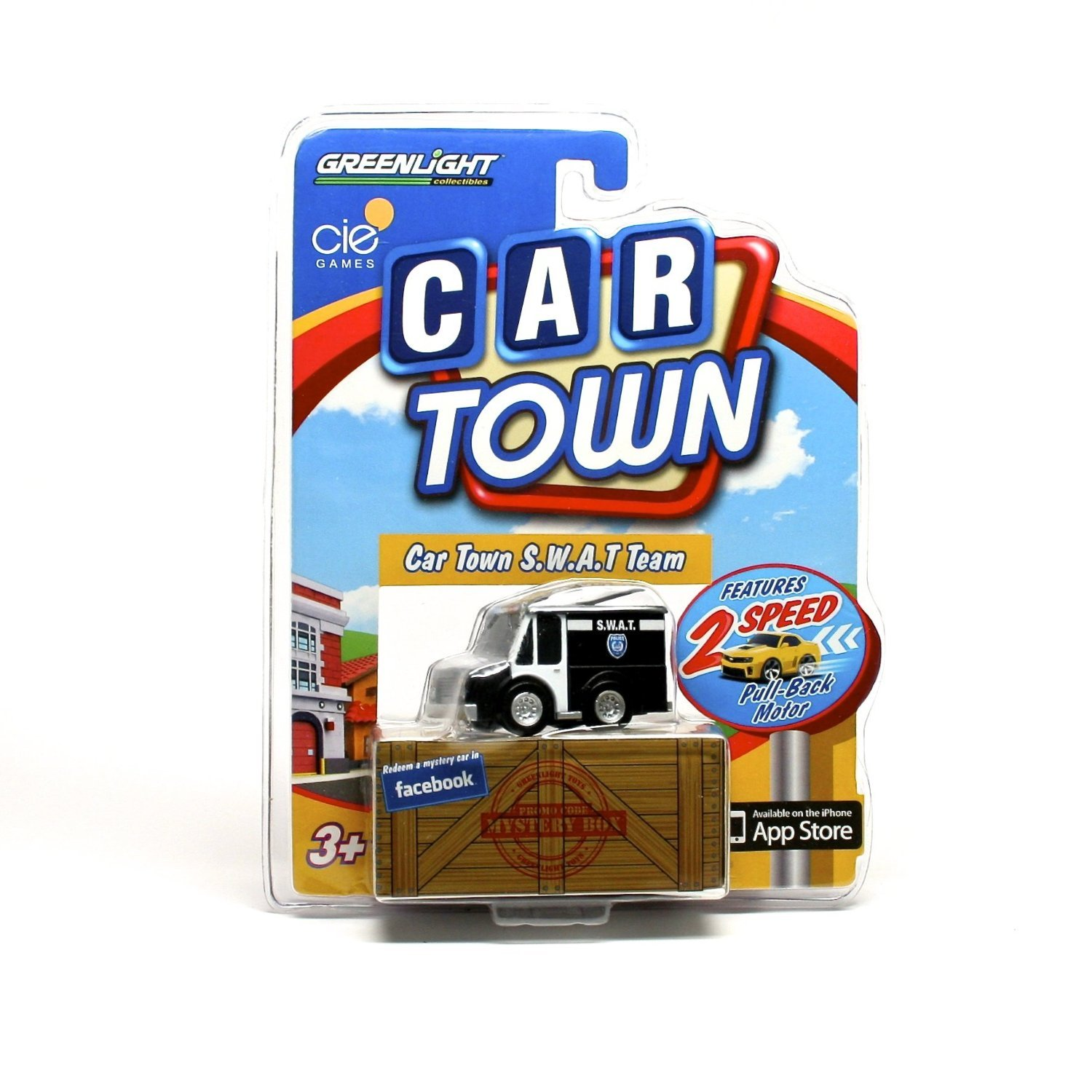 Amazon com greenlight 6 cars gift pack set 2 speed pull back motor mini hot toy car town model series 2 6 cars included toys games