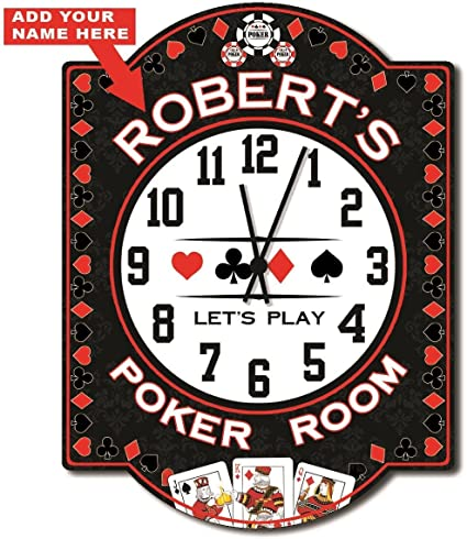Poker room wall clock fort myers dog track poker room