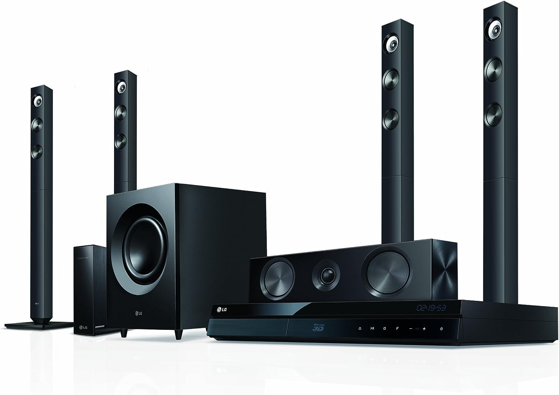LG BH7520TW 5.1 - Sistema de home cinema con reproductor Blu-ray en 3D y altavoces traseros inalámbricos (Smart TV, WLAN, DLNA, HDMI) [Importado de Alemania]: Amazon.es: Electrónica
