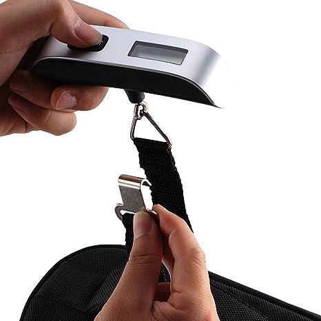 waneway Value Bundle – Báscula electrónica de equipaje maleta de pesaje de + (Cierres TSA