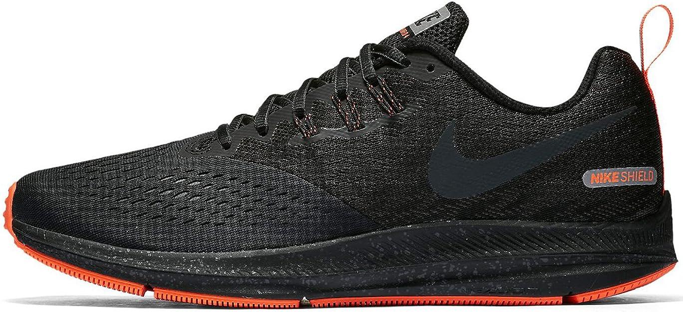 Nike Zoom Winflo 4 Shield, Zapatillas de Running para Hombre, Multicolor (Black/Anthracite/Anthracite 001), 40.5 EU: Amazon.es: Zapatos y complementos