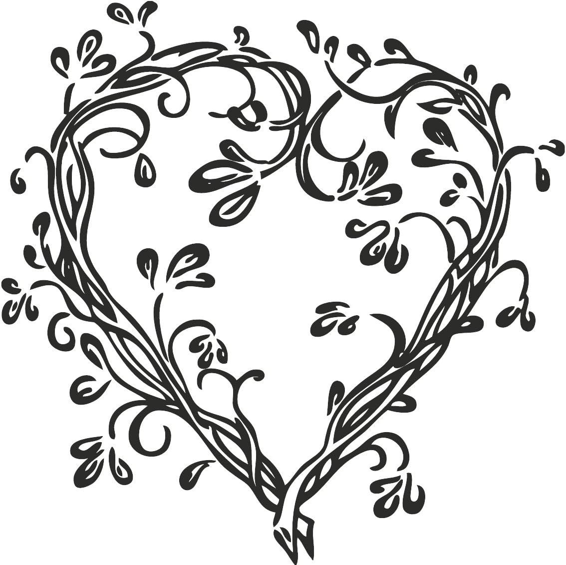 Knorr Prandell 211801012 Knorr prandell 211801012 Stempel aus Holz Motivgr/ö/ße 3,5 x 3,3 cm Hochzeit Motiv: Herzranke