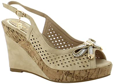 Laura Biagiotti Amber, Sandales Bout Ouvert Femme, ( 03), 37 EU