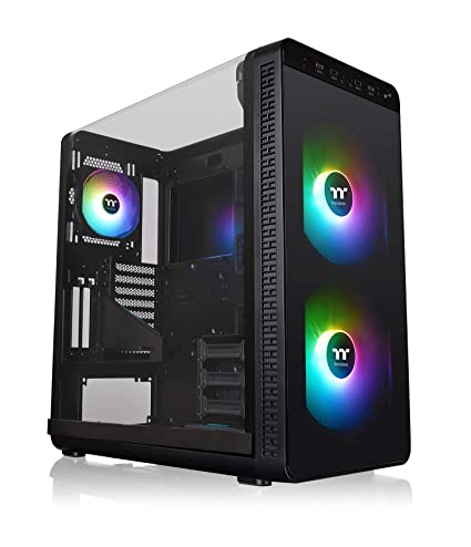 Thermaltake View 37 ARGB Edition (Pure RGB) PC-Gehäuse, schwarz