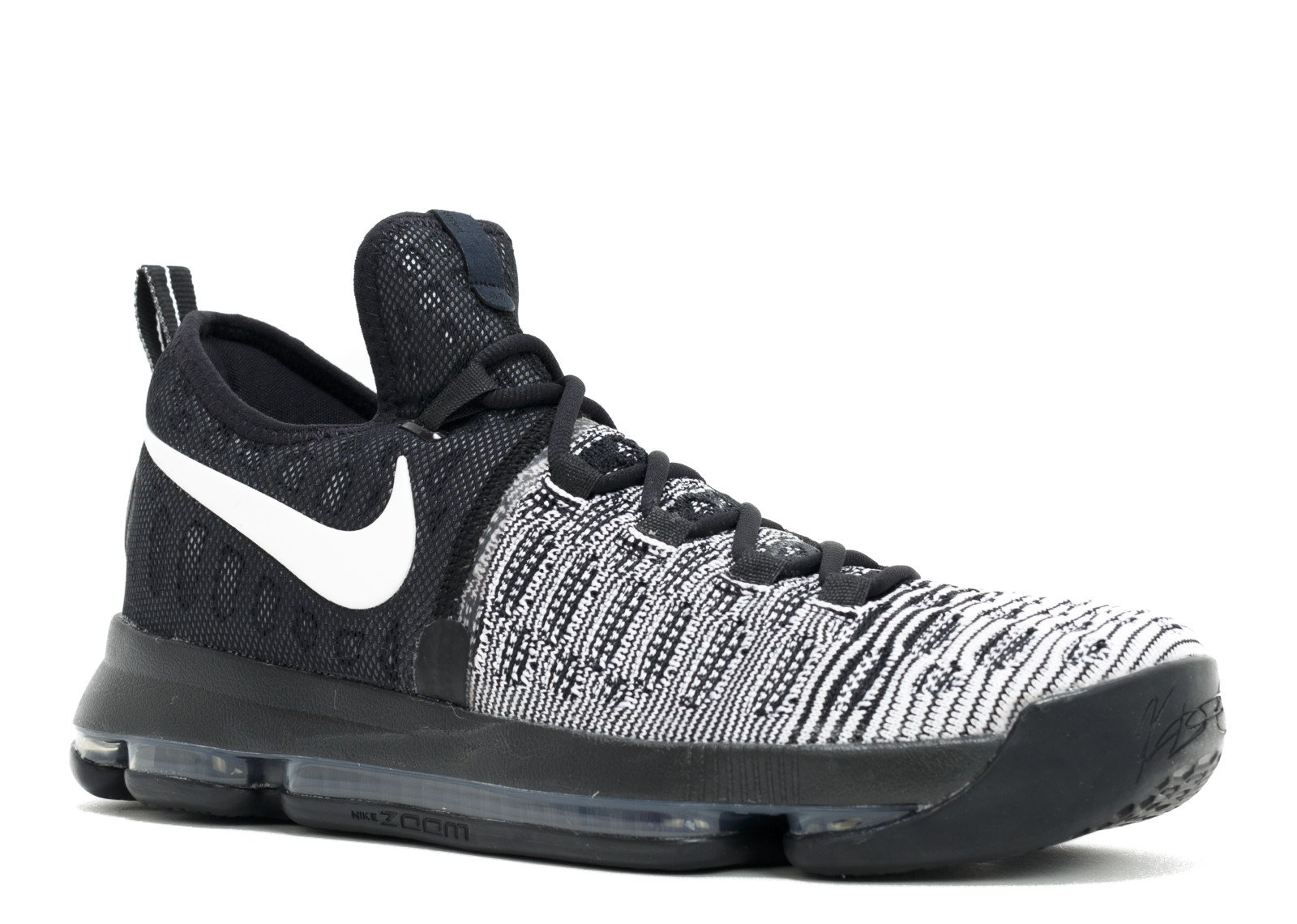buy popular 1772f 86f42 Galleon - NIKE Men s Zoom KD 9 Black White 843392-010 (Size  8.5)