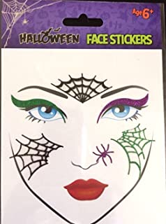 Claires halloween face tattoos