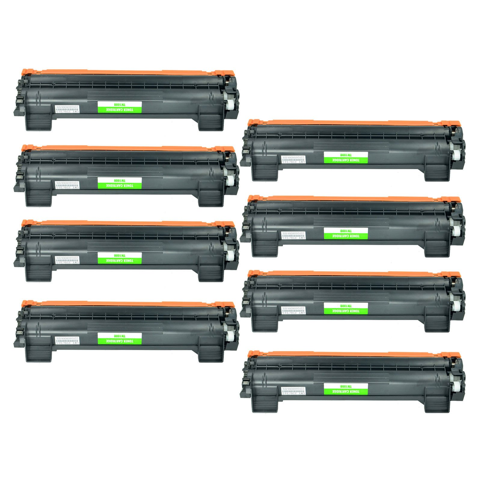 Febe New Compatible TN1000 Toner Cartridge for Brother HL-1110 DCP-1510 MFC-1910W TN-1000 Printers – 8 Black