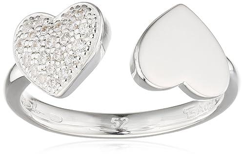 THOMAS SABO Damen Ring TR2082-051-14 Ring 925er Sterlingsilber Zirkonia Pavé Weiß Silberfarben, Weiß