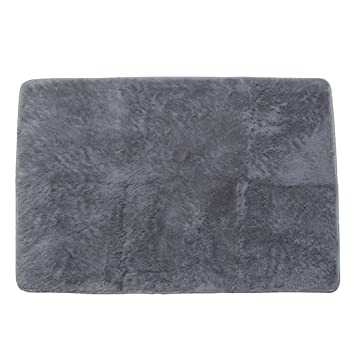 80120cm Living Room Floor Mat Cover Carpets Rug Area Gray
