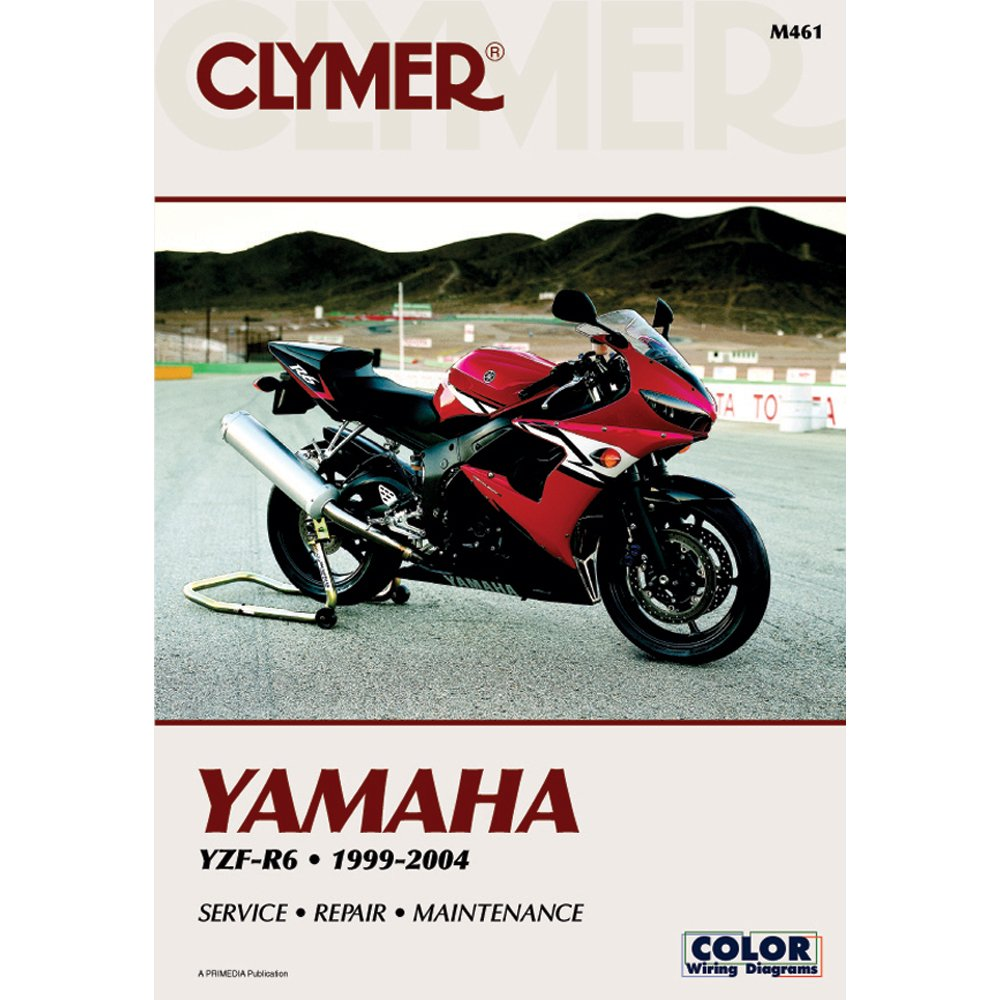 Amazon.com: Clymer Repair Manual for Yamaha YZF-R6 R-6 99-04: Manufacturer:  Electronics