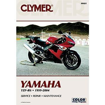 amazon com clymer repair manual for yamaha yzf r6 r 6 99 04 rh amazon com 2004 yamaha r6 repair manual 2004 yamaha r6 repair manual