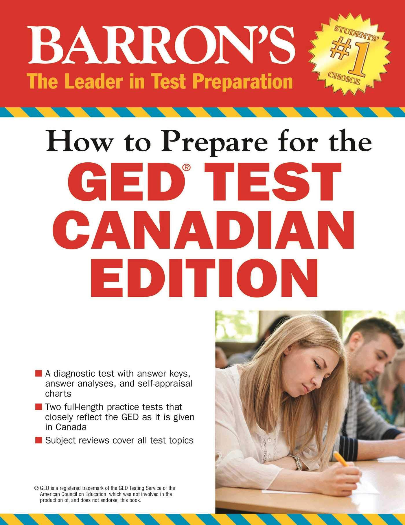 How To Prepare For The GED Test  Canadian Edition  Barron's GED Canada
