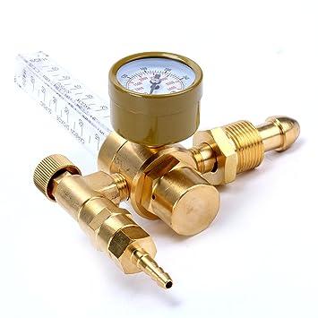 Medidor caudalímetro para soldadura MIG y TIG argón CO2: Amazon.es: Coche y moto