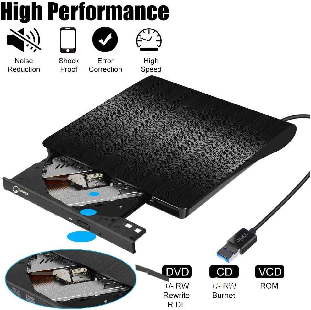 USB 2.0 External CD//DVD Drive for Acer Aspire V3-771-32356g50makk