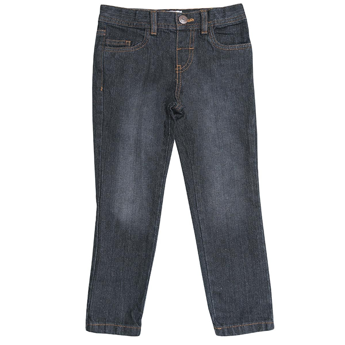 Boys Black Grey Washed Denim Slim Leg Fashion Jeans Sizes from 2 to 6 Years