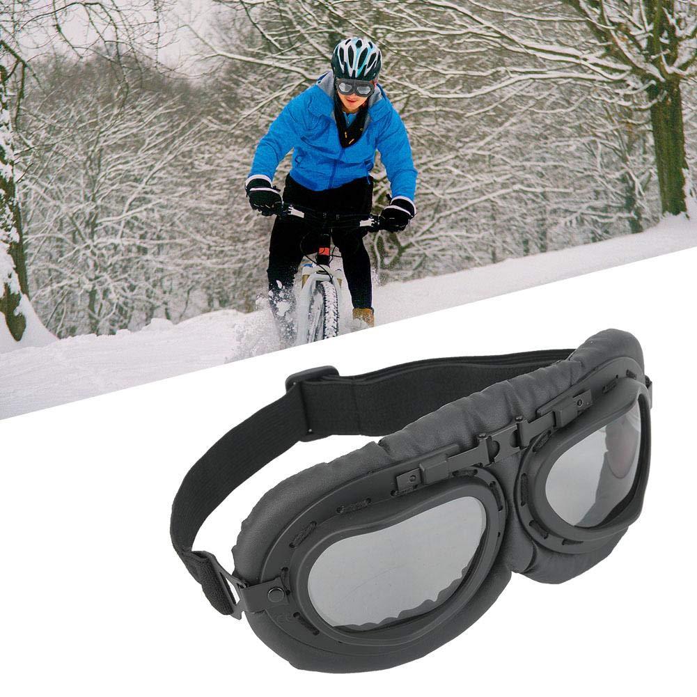 Occhiali da Moto Parabrezza Occhiali da Moto con Lenti A Colori Occhiali da Moto Parabrezza Traspiranti Regolabili A Prova di Sabbia