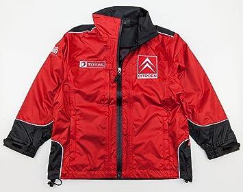 WRC Citroen Racing Rally Team Kids Lightweight Childs Jacket Size Large