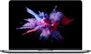 "Apple 13.3"" MacBook Pro with Touch Bar, Intel Core i5 Quad-Core, 8GB RAM, 128GB SSD - Mid 2019, Space Gray, MUHN2LL/A (Renewed)"