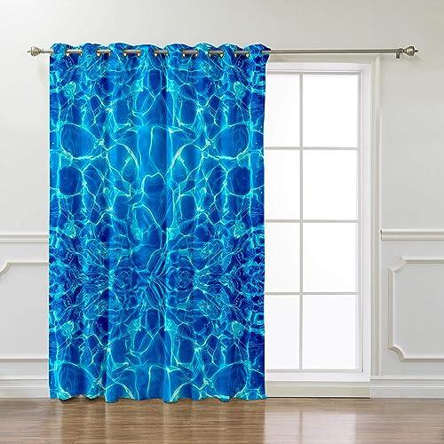 Libaoge Room Darkening Window Curtain - the best window curtain panel for the money