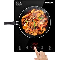 Sunavo CB-I11 1800W Sensor Touch Portable Induction Cooktop