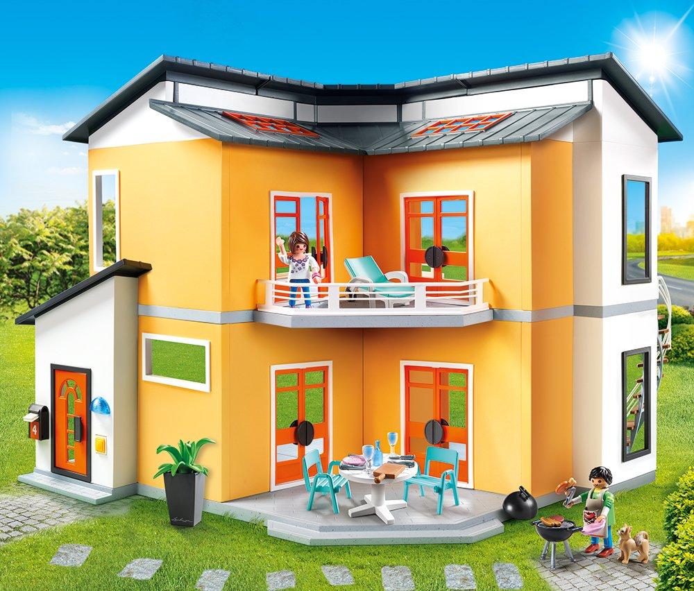 Amazon.de:Playmobil 9266 - Modernes Wohnhaus