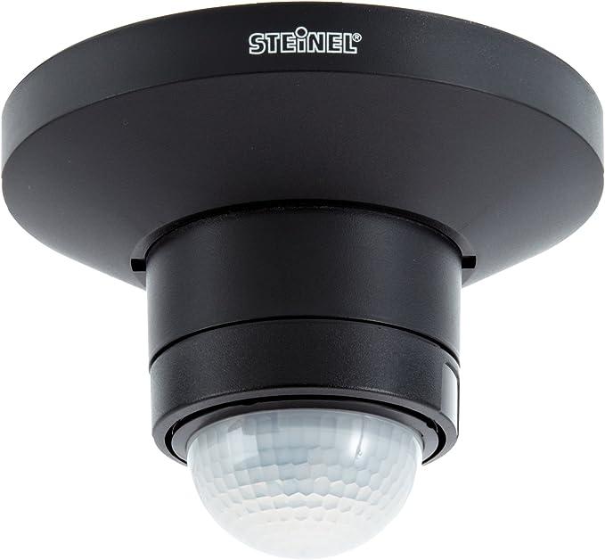 360° Sensor Steinel Infrarot Bewegungsmelder IS 360-3 schwarz IP54 12m