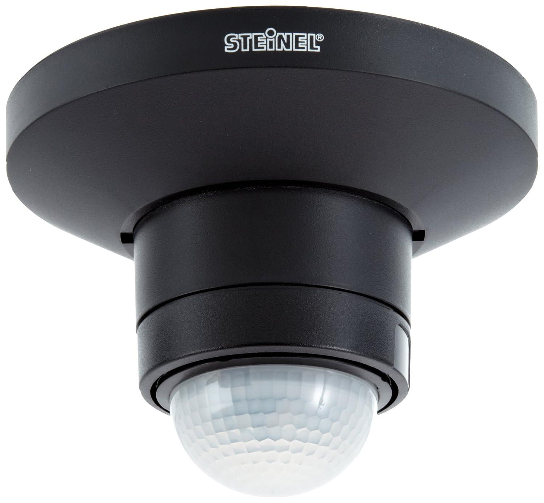 Steinel Bewegungsmelder IS 360 TRIO weiß mit 3 Infrarot-Sensoren, 360° Rundum-Überwachung bis max. 12 m, Deckenmontage, 602611 602611