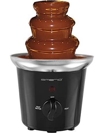 Emerio CF-103600 Fuente de Chocolate 32 W, Acero Inoxidable