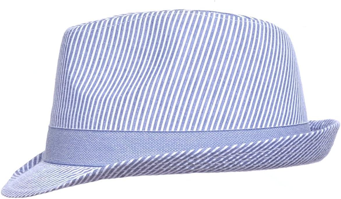Fedora Hat Flap Happy Boys UPF 50