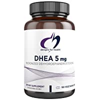 Designs for Health DHEA 5mg - Energy + Hormone Balance Support for Women and Men (180 Capsules)