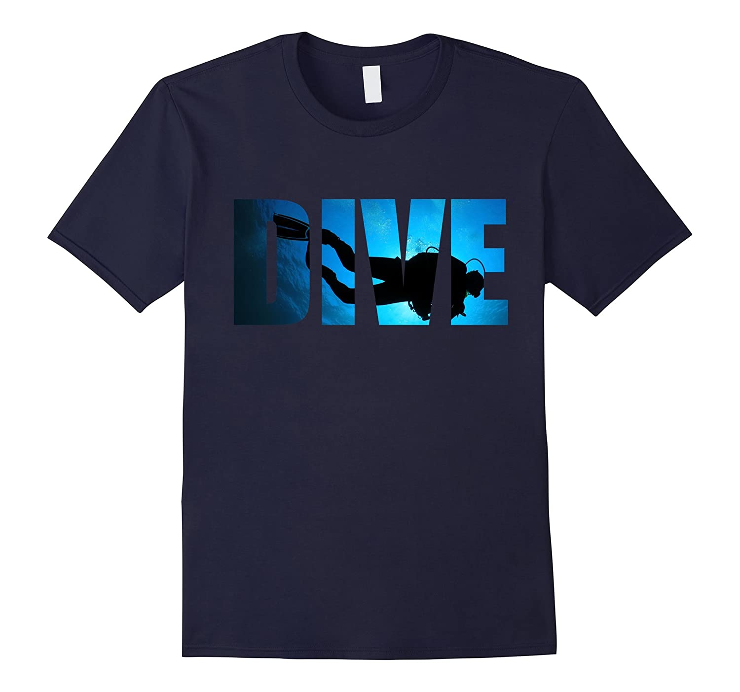 Dive Shirt Scuba Diving Deep in the Ocean T-Shirt-CD