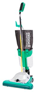 "Bissell BigGreen Commercial BG102DC ProCup Comfort Grip Handle Upright Vacuum with Magnet, 870W, 16"" Vacuum Width"