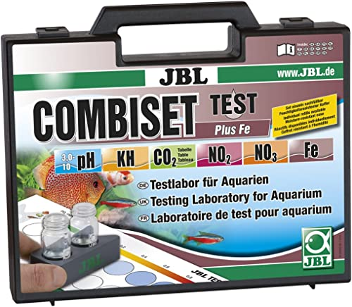 JBL Combiset Testkoffer zur Wasseranalyse von Aquarien