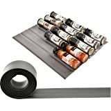 Banveno Spice Drawer Non-Slip Liner, Great Silicone Drawer Organizer for Storing,10ft Roll, Your Cabinets Hassle Killer…