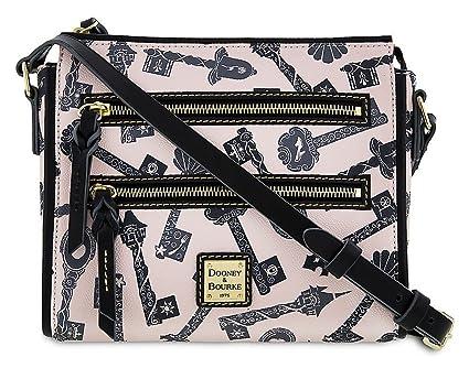 Amazon Com Disney Dooney Bourke Princess Keys 2 Zipper Crossbody