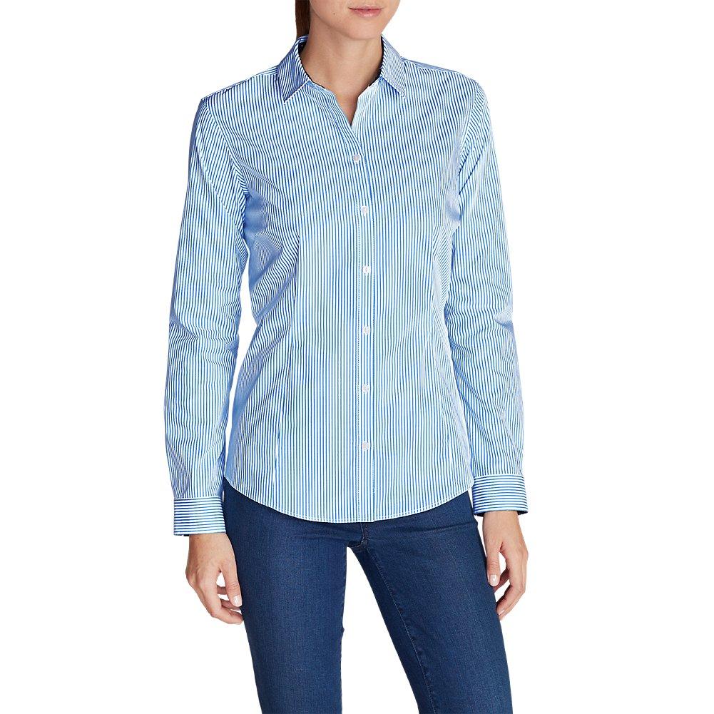 Eddie Bauer Women's Wrinkle-Free Long-Sleeve Shirt - Print 40418