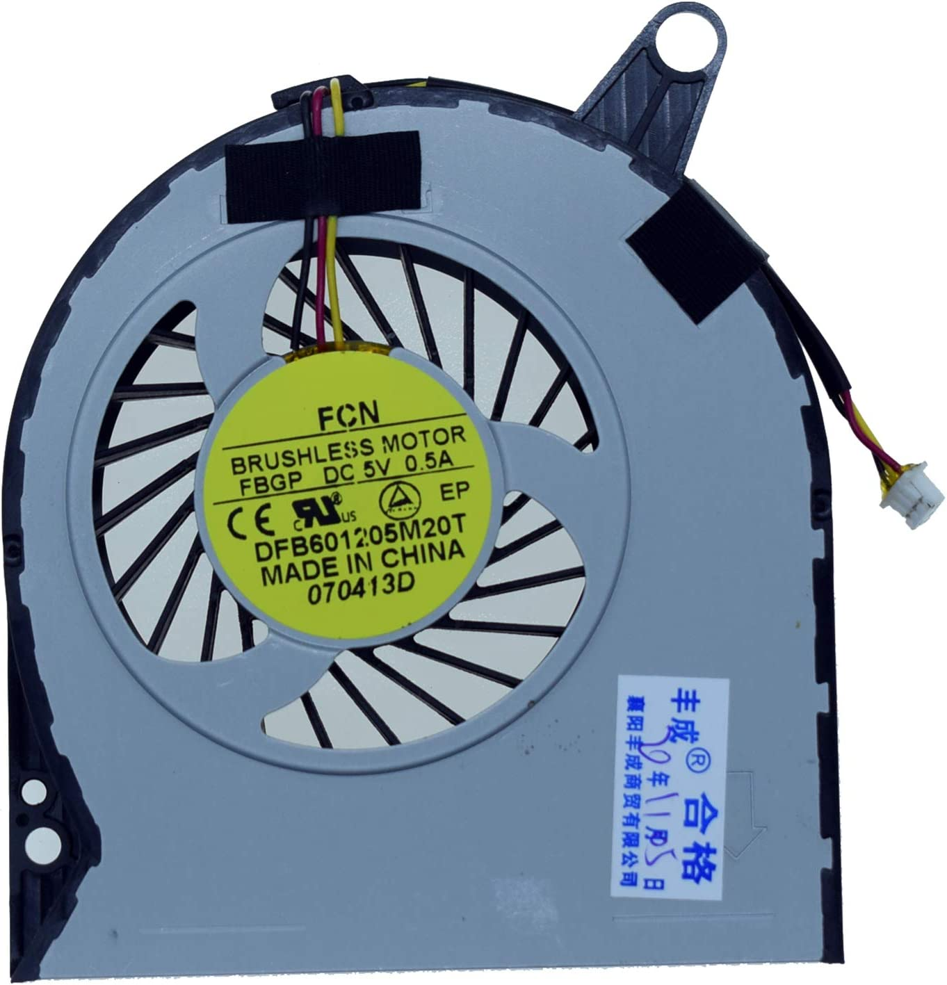 Rangale Replacement CPU Cooling Fan for Acer Aspire V3-731 V3-731G V3-771 V3-771G V3-772 V3-772G Series Laptop DFB601205M20T FBGP
