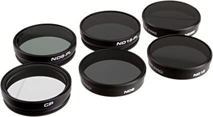 Polarpro Filter 6er Set Für Dji Phantom 3 Kamera